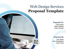 Web Design Services Proposal Template Powerpoint Presentation Slides
