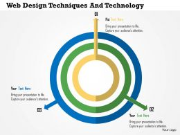 Web Design Techniques And Technology Flat Powerpoint Design