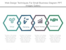 Web Design Techniques For Small Business Diagram Ppt Images Gallery