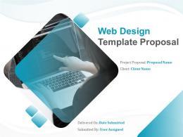 Web Design Template Proposal Powerpoint Presentation Slides