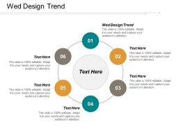 Web Design Trend Ppt Powerpoint Presentation Icon Background Image Cpb
