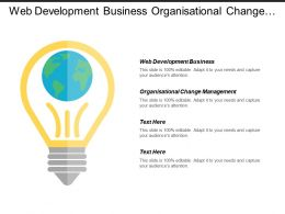 Web Development Business Organizational Change Management Business Sell