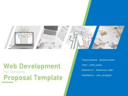 Web Development For Company Proposal Template Powerpoint Presentation Slides