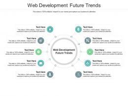 Web Development Future Trends Ppt Powerpoint Presentation Demonstration Cpb