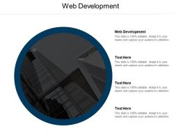 Web Development Ppt Powerpoint Presentation Infographics Graphics Download Cpb