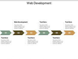 Web Development Ppt Powerpoint Presentation Show Slides Cpb