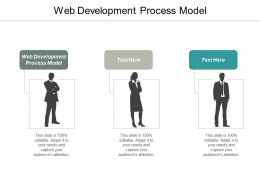 Web Development Process Model Ppt Powerpoint Presentation Infographic Template Vector Cpb