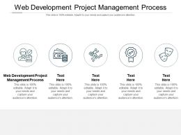 Web Development Project Management Process Ppt Powerpoint Presentation Show Slideshow Cpb