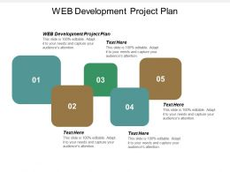 Web Development Project Plan Ppt Powerpoint Presentation Icon Deck Cpb