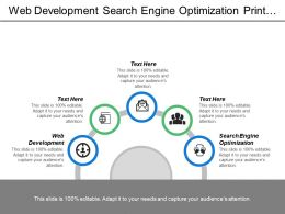 Web Development Search Engine Optimization Print Production Broadcast Production