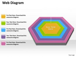 web diagram ppt diagrams templates 4