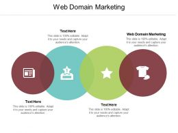 Web Domain Marketing Ppt Powerpoint Presentation Pictures Outline Cpb