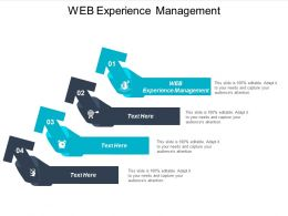 Web Experience Management Ppt Powerpoint Presentation Outline Guide Cpb