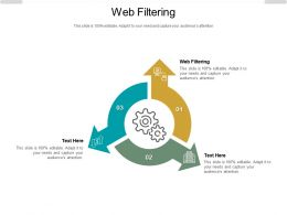 Web Filtering Ppt Powerpoint Presentation Icon Format Cpb