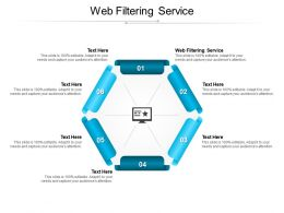Web Filtering Service Ppt Powerpoint Presentation Show Slides Cpb