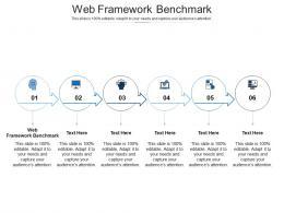 Web Framework Benchmark Ppt Powerpoint Presentation Deck Cpb