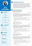 Web Graphic Designer Sample Resume CV Template