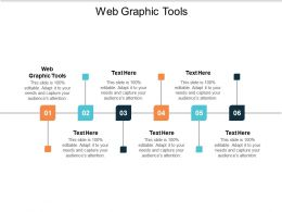 Web Graphic Tools Ppt Powerpoint Presentation Show Design Inspiration Cpb
