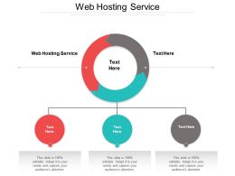Web Hosting Service Ppt Powerpoint Presentation Gallery Ideas Cpb