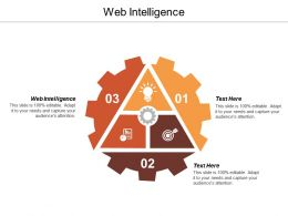 Web Intelligence Ppt Powerpoint Presentation Icon Graphics Template Cpb