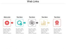 Web Links Ppt Powerpoint Presentation Icon Background Designs Cpb