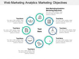 Web Marketing Analytics Marketing Objectives Ppt Powerpoint Presentation Outline Inspiration Cpb