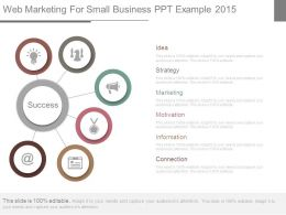 Web Marketing For Small Business Ppt Example 2015