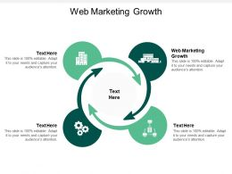 Web Marketing Growth Ppt Powerpoint Presentation Icon Diagrams Cpb