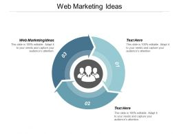 Web Marketing Ideas Ppt Powerpoint Presentation Styles Portfolio Cpb