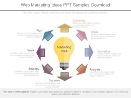 Web Marketing Ideas Ppt Samples Download