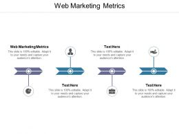 Web Marketing Metrics Ppt Powerpoint Presentation File Example Introduction Cpb