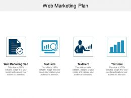 Web Marketing Plan Ppt Powerpoint Presentation Gallery Demonstration Cpb