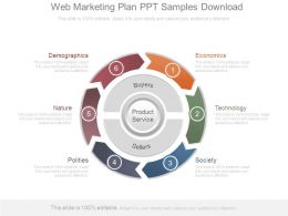 Web Marketing Plan Ppt Samples Download