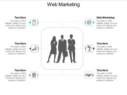 Web Marketing Ppt Powerpoint Presentation Pictures Guidelines Cpb