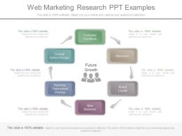 Web Marketing Research Ppt Examples