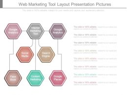 Web Marketing Tool Layout Presentation Pictures