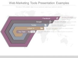 Web Marketing Tools Presentation Examples