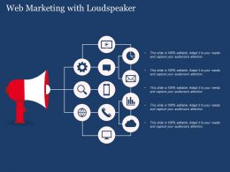 Web Marketing With Loudspeaker