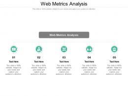 Web Metrics Analysis Ppt Powerpoint Presentation Portfolio Graphics Cpb