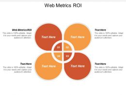 Web Metrics ROI Ppt Powerpoint Presentation Slides Example Cpb