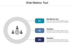 Web Metrics Tool Ppt Powerpoint Presentation Summary Pictures Cpb