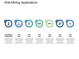 Web Mining Applications Ppt Powerpoint Presentation Styles Information Cpb