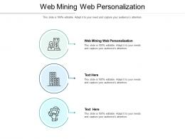 Web Mining Web Personalization Ppt Powerpoint Presentation Gallery Graphics Tutorials Cpb