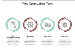 Web Optimization Tools Ppt Powerpoint Presentation Summary Slide Download Cpb