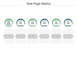 Web Page Metrics Ppt Powerpoint Presentation Pictures Outfit Cpb