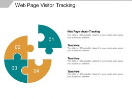 Web Page Visitor Tracking Ppt Powerpoint Presentation Layouts Tips Cpb