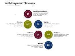 Web Payment Gateway Ppt Powerpoint Presentation Inspiration Templates Cpb