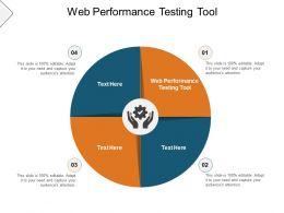 Web Performance Testing Tool Ppt Powerpoint Presentation Show Smartart Cpb