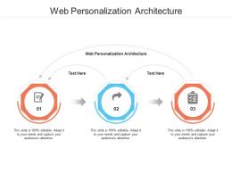 Web Personalization Architecture Ppt Powerpoint Presentation Icon Outfit Cpb
