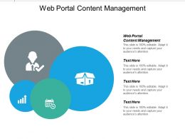 Web Portal Content Management Ppt Powerpoint Presentation Infographics Graphic Tips Cpb